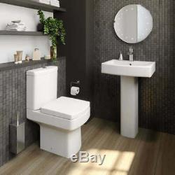 Complete Bathroom Suite 1600 L Shape LH/RH Bath Screen Basin Toilet Shower Taps