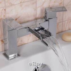 Complete Bathroom Suite 1600 L Shaped Bath LH/RH Screen Toilet Basin Shower Taps