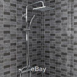 Complete Bathroom Suite L Shaped RH Bath Basin 600mm Vanity Unit WC Shower Taps