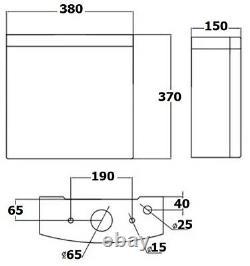 Complete Bathroom Suite LH/RH 1500 L Shape Bath Screen Basin Vanity Unit Toilet