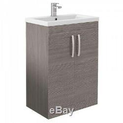 Complete Bathroom Suite P Shaped Bath Close Coupled Toilet Basin Screen Taps Set
