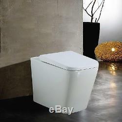 Complete Bathroom Vanity Basin Unit White Gloss Waterproof Sink +WC+ CISTERN