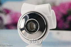 Complete V Shaped Venturi, C/W Shroud & Eyeball Chrome