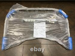 Impey U Shaped Shower Curtain 1300x800mm Complete With Fixing Kit Pick Up Only