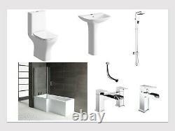 L-Shape Complete Bath Suite