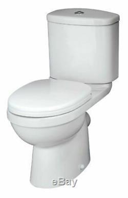 L Shaped Bath LH, Complete Bathroom, 500mm Vanity, Shower, Toilet, Screen, Taps