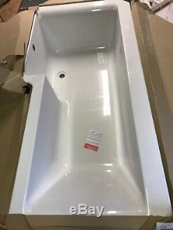 L Shaped bath 1675mm Elite Complete With Fixings