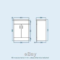 LH L Shaped Shower Bath Toilet Vanity Unit Complete Bathroom Suite Senore