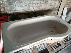 P shaped 1500 bath, side panel and glass LUXURY shower screen COMPLETE Unused
